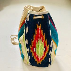 {vintage} Empress Tribal Bucket Bag